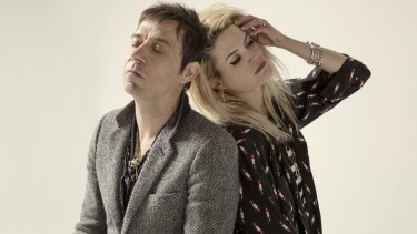 The Kills (Jamie Hince and Alison Mosshart): Touring Australia in July.