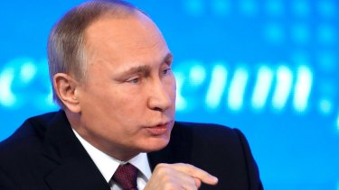 Russian President Vladimir Putin .banned the OSF in 2015, adding it to a list of 'undesirable' foreign institutions.