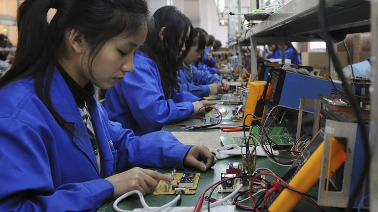 Data on Friday showed that credit levels in China appeared to improve in August after an alarming drop in July.