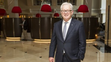 Former trade minister Andrew Robb at the annual Australia India Trade and Investment Forum in May.