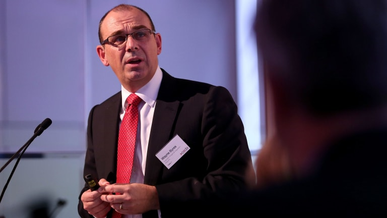 APRA's Wayne Byres says ''something serious is amiss'' on bank culture.