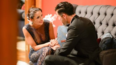 <i>The Bachelor 2015's</i> Snezana and Sam. A couple we could get behind.