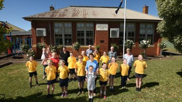 Tears and smiles as loved primary school closes after 146 years