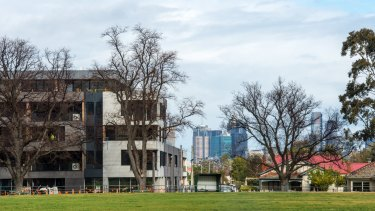 Apartment construction across Melbourne's inner north is booming, especially around Brunswick, where projects such as the Albert at 50 Albert Street are being built.