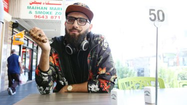 Australian Poetry Slam champion Zohab Zee Khan has lunch at New Star Kebabs in Auburn.