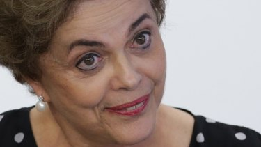 Brazil's President Dilma Rousseff is facing impeachment.