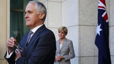 Prime Minister Malcolm Turnbull and Foreign Affairs Minister  Julie Bishop will promote Australia's underlying values and interests.