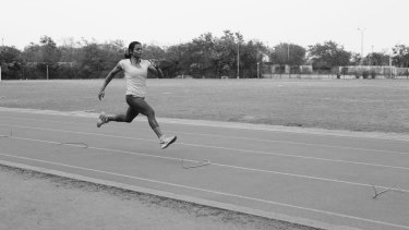 Focus fell on Dutee Chand after rivals complained that her stride was too long for her height.