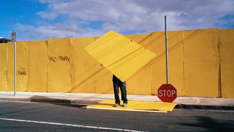 Jesse Marlow, <i>Stop</i>, 2011. Courtesy of M.33.