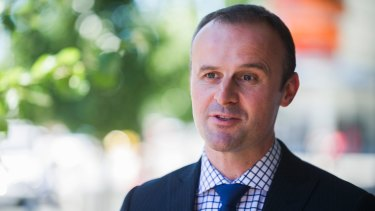 Chief Minister Andrew Barr says he can win an election if its a referendum on light rail