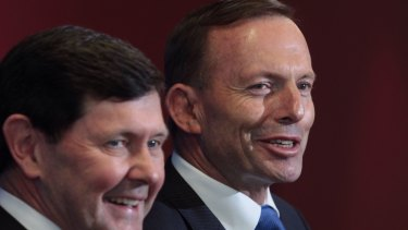 Prime Minister Tony Abbott and Defence Minister Kevin Andrews on Wednesday.