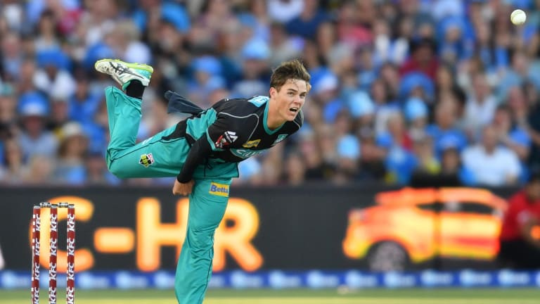 Mitchell Swepson has received plenty of public support from Shane Warne.