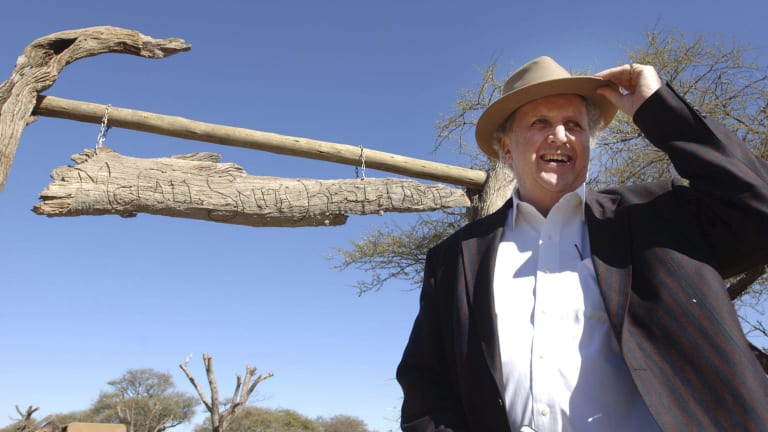 Alexander McCall Smith: Smitten by Australia's beauty and cheerfulness.