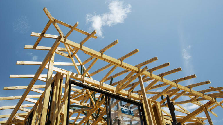 Home construction is again a bright spot for Queensland.
