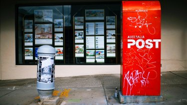 Australia Post is facing heavy financial losses.