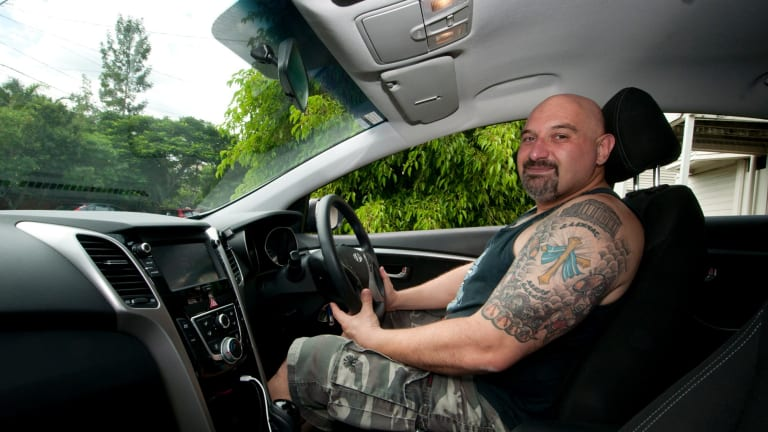 Uber driver Nick Pikos was struggling to get job security before signing up to drive with the ride-sharing company.