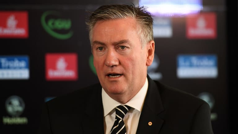 Eddie McGuire and Caroline Wilson often can't remember if they're friends or enemies, but Wilson remembers that Eddie was supportive of her, when so many weren't, when she became chief football writer.