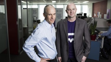 Chief executive Jack Goodman and chief operating officer Michael Larsen of YourTutor.