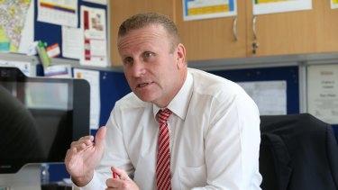 Rosemeadow Public School principal Paul Hughes.