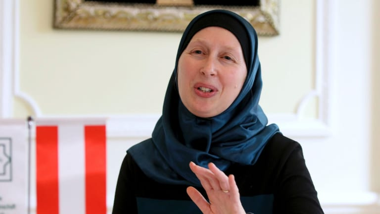 Carla Amina Baghajati from the Austrian Islamic Religious Community says women wearing burqas have been criminalised.