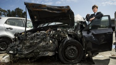 Children's lucky escape from Monaro Highway crash shows importance