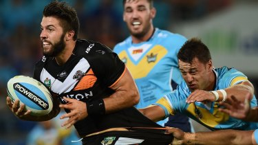 In top form: James Tedesco has started the season off strongly for the Tigers.