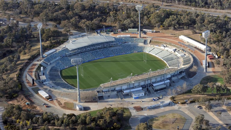 Parking at Canberra Stadium will cost more in 2018.
