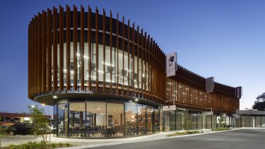 The Corner in Rowville is designed by Coy Yiontis Architects.