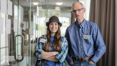 18-year-old Isabella Buckley from Griffith and 73-year-old Mark Dickerson from O'Connor brought their perspectives to the CTP citizens' jury last year.