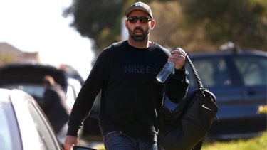 Time out: Swans star Adam Goodes has taken a break from AFL.