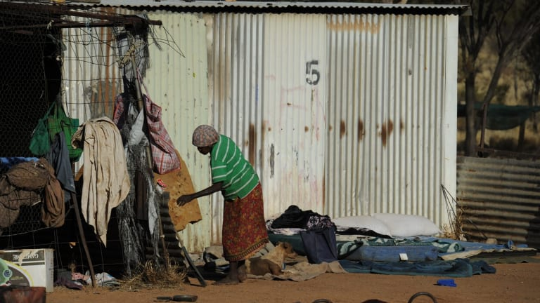 The UN's special rapporteur on the rights of indigenous peoples, Victoria Tauli-Corpuz, is appalled at the conditions some Indigenous Australians live under.
