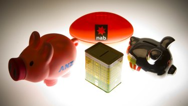 The big four banks are looking more similar, with NAB and ANZ retreating from international markets.