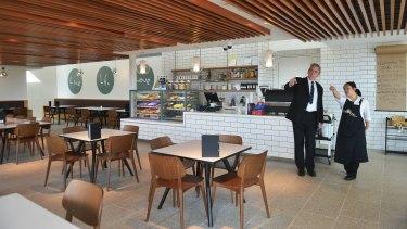 Bunurong Memorial Park's new cafe.