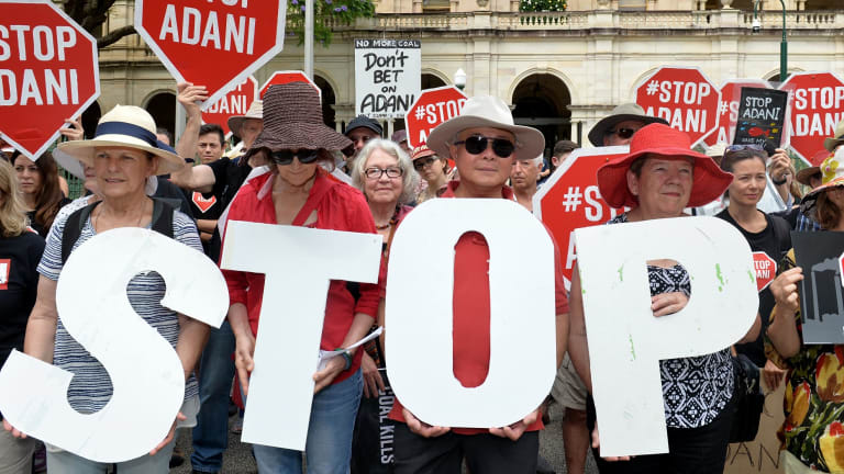 The Adani coal mine is opposed by over 70 per cent of people who know about the project.