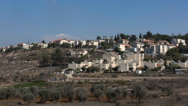 The Israeli  settlement of Beit El in the occupied West Bank. Tax records show Jared Kushner's family has donated tens of thousands of dollars to Israeli settlement institutions in recent years.