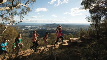 Mount Ainslie in the ACT was one of the nature reserves proposed to be a part of the new national park.