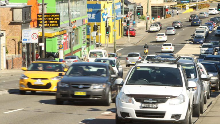 Choked: Former premier Nick Greiner says Parramatta Road should remain the focus of the WestConnex project.