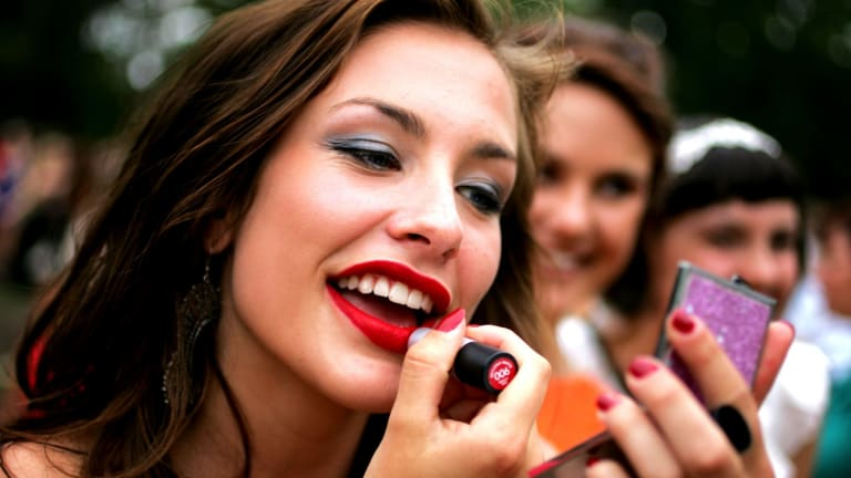 Most make-up products are not really 'empty' when they initially stop dispensing product.