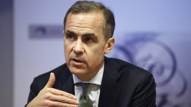 Bank of England governor Mark Carney warned investors that they face huge climate change losses.