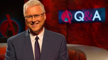 Many of the ABC's top presenters, including Q&A host Tony Jones, are white, promoting claims the broadcaster is too 'Anglo'.