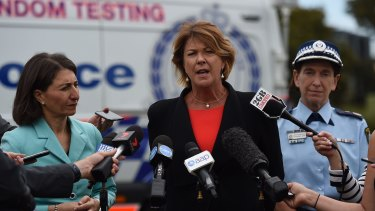 NSW Roads Minister Melinda Pavey yesterday said she was  concerned about the number of crashes involving heavy vehicles.
