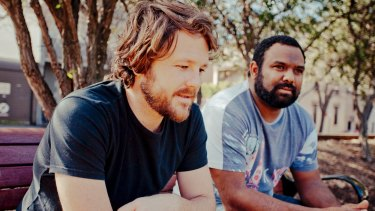 Busby Marou said his new song, Paint This Land, 'acknowledges our powerful Indigenous culture and celebrates our future'.