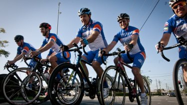MND and Me Foundation supporters will kick start their ride on Sunday.
