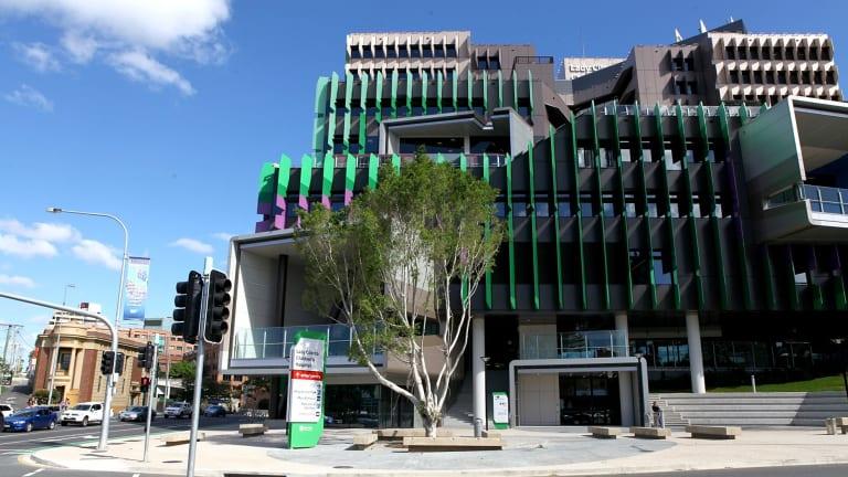 The new Lady Cilento Children's Hospital.