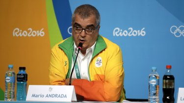 Mario Andrada: the public relations gold medallist of the Olympics.