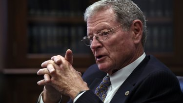 """""""James Mountain Inhofe is a character, an outrageous version of himself, an invention perhaps, but a character of the sort you might find in a carnival or sideshow alley."""""""