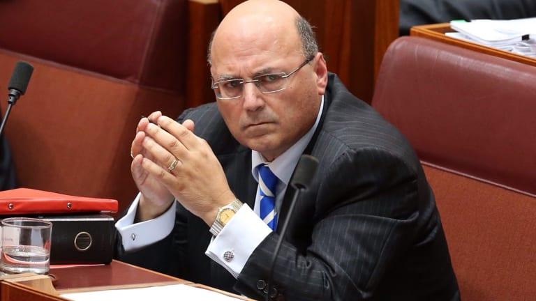 Senator Arthur Sinodinos was honorary treasurer of the NSW Liberals when the unlawful donations were made.