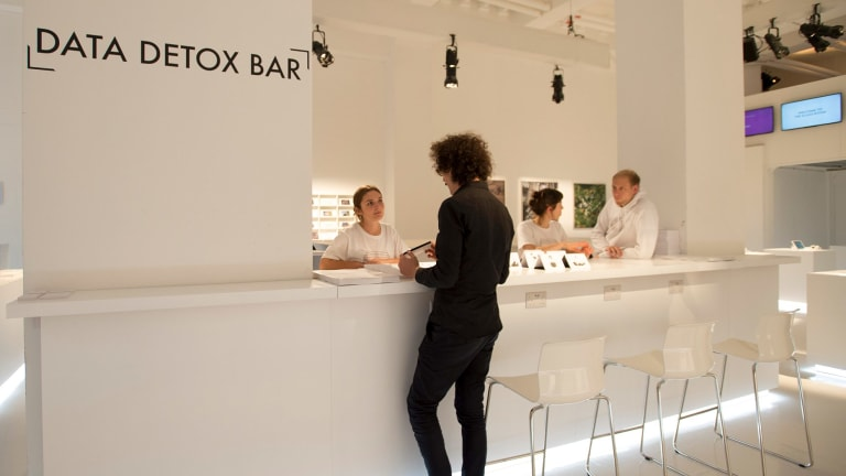 All too much? Head to the Data Detox Bar.