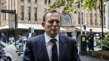 Mr Abbott said Labor's support would be needed and he credited Labor under Bill Shorten for not playing politics on national security.