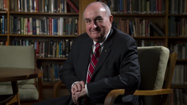 ANU Alumni of the year, Professor Michael McRobbie AO FAHA, a global leader in higher education and President of Indiana University.